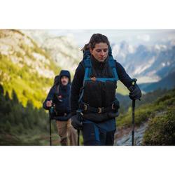 Gilet doudoune sans manche de trek montagne - TREK 500 noir - Femme