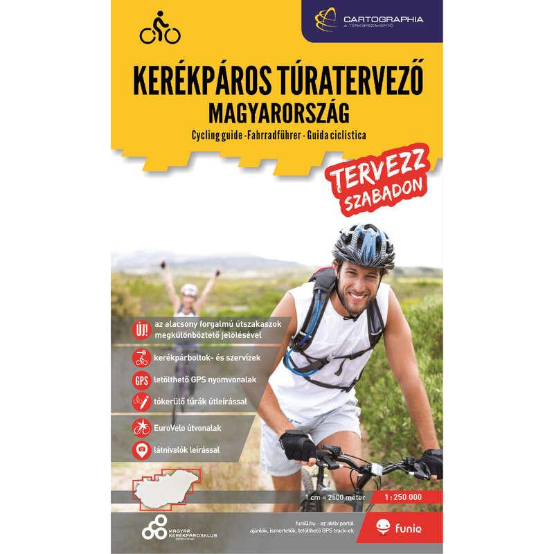 térképek Kerékpározás - Kerékpáros túratervező Magyaro CARTOGRAPHIA - Kerékpár kiegészítők