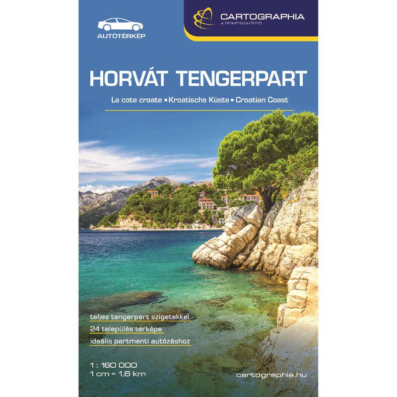 Térképek Túrázás - Horvát tengerpart (Adria) CARTOGRAPHIA - Túra felszerelés