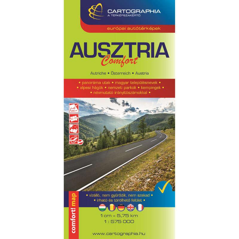 térképek Túrázás - Ausztria comfort térkép CARTOGRAPHIA - Túra felszerelés