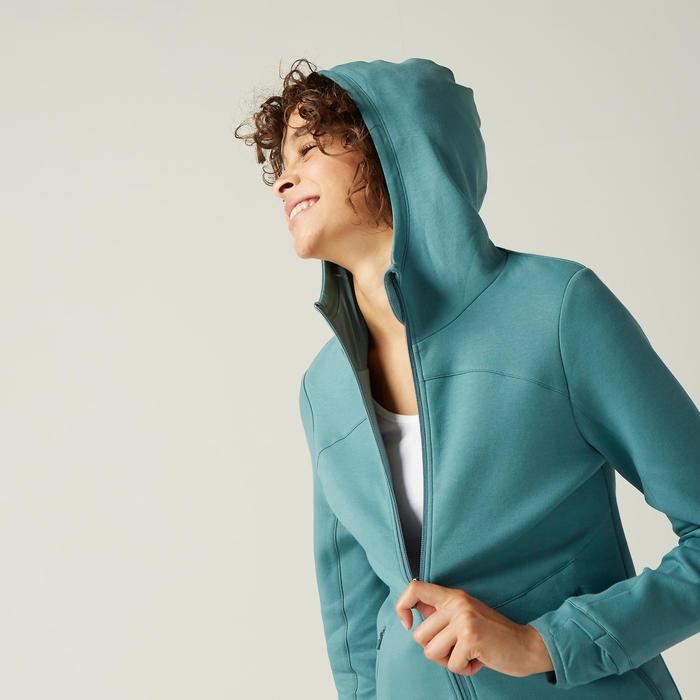女款連帽外套560 - 綠色