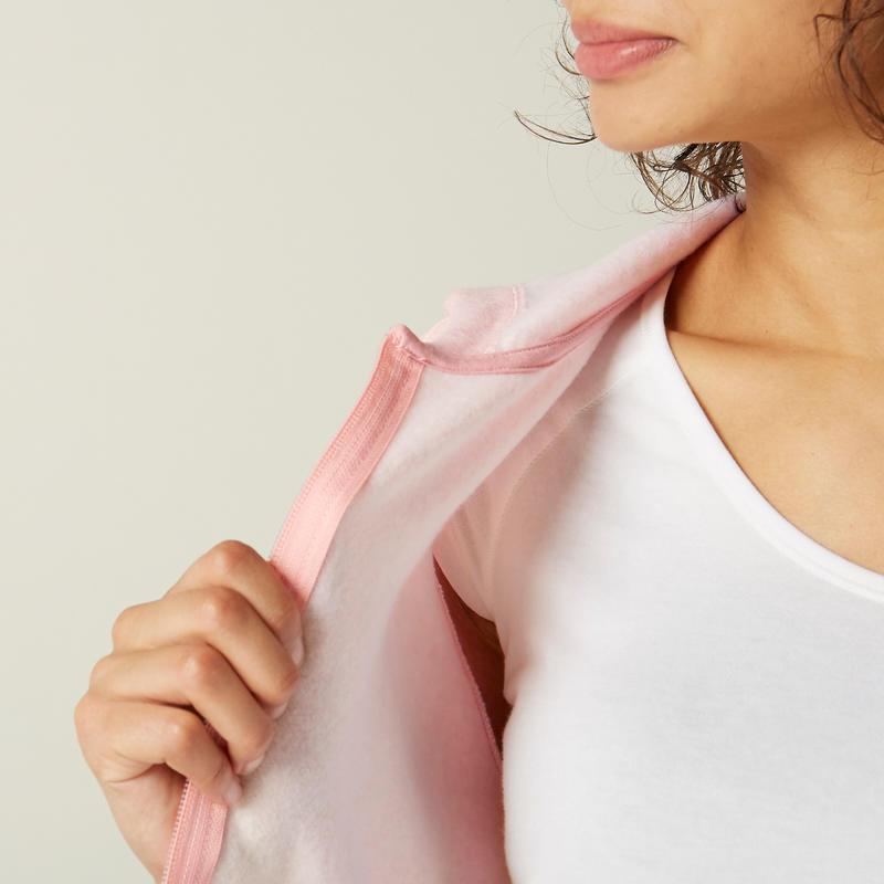 Veste à Capuche 500 Femme Rose