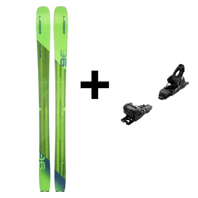 MEN'S FREERIDE SKIS Vintersport - SKIDA RIPSTICK 96 ELAN - Skidutrustning