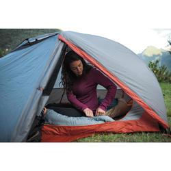 Zelfdragende 2-persoons trekkingtent voor 3 seizoenen Trek 900 grijs