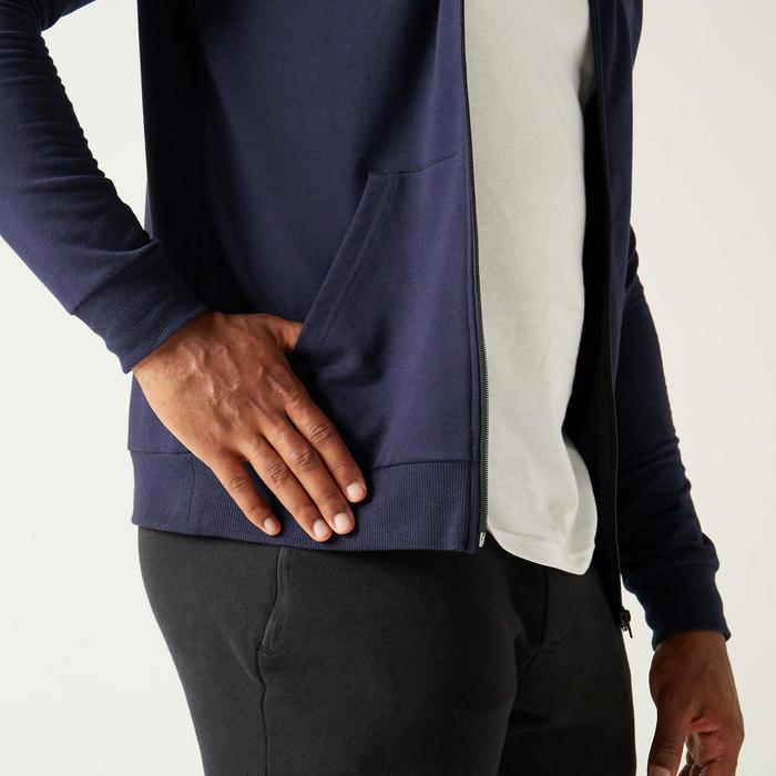 Veste à Capuche 100 Homme Bleu Foncé