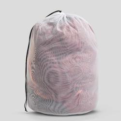 羽絨健行睡袋TREK 900 0° -灰色/棕色