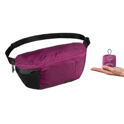 Heuptasje voor backpacken TRAVEL 100 paars 2 l