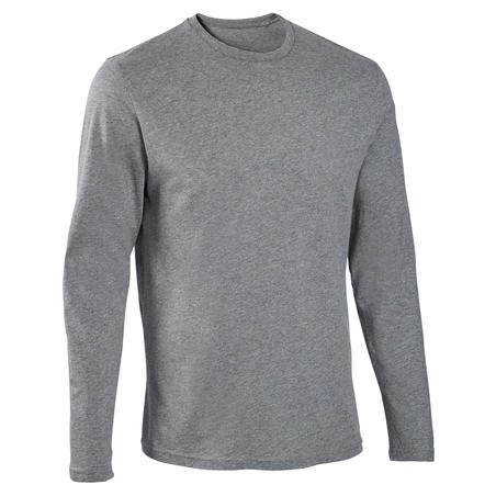 100 regular gym long-sleeved t-shirt – Men