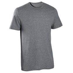 Pure Cotton Fitness T-Shirt Sportee - Dark Grey