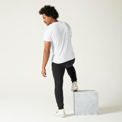 T-shirt Sportee 100% Coton Homme Blanc