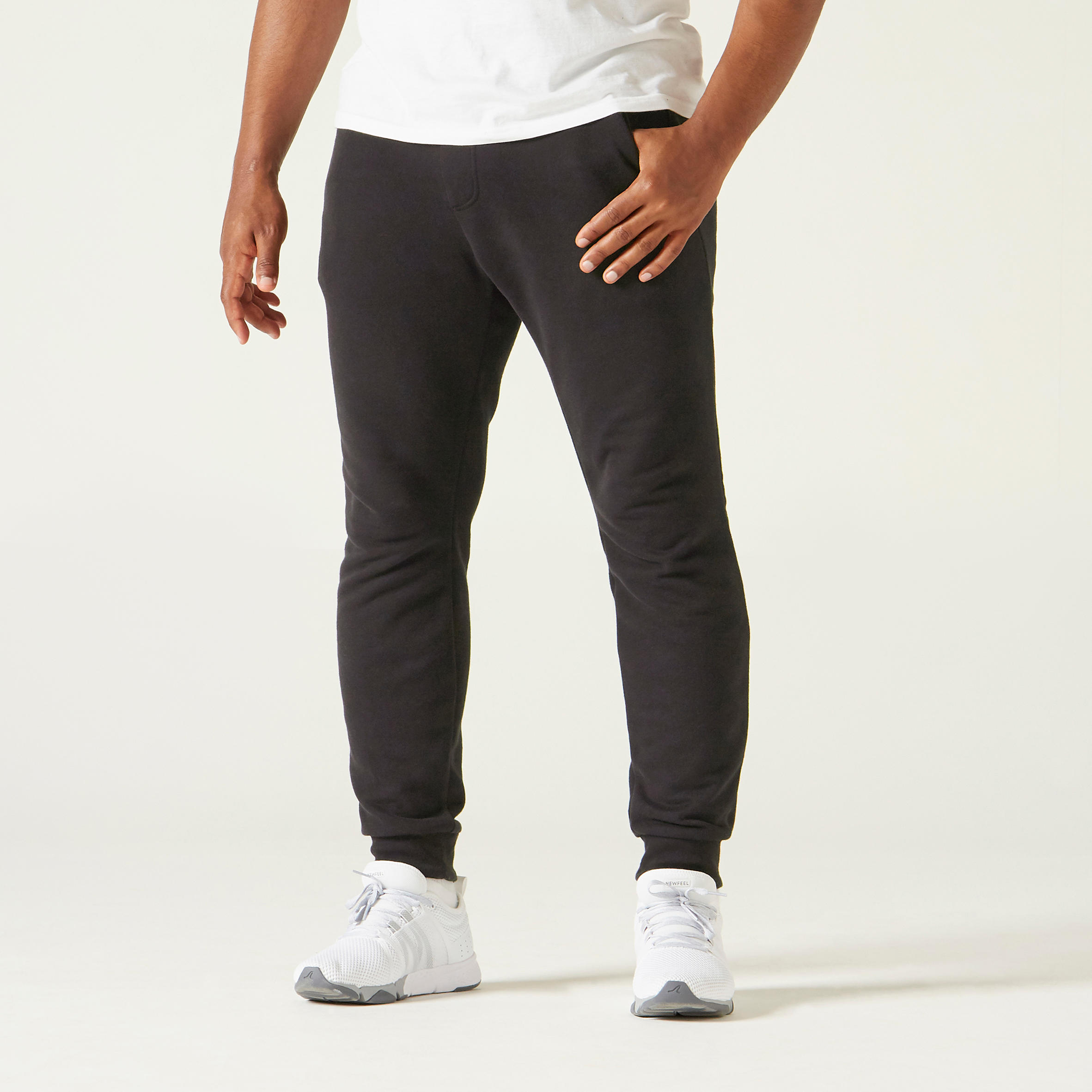 Pantalon slim 500 bărbați imagine