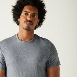 Men's 100% Cotton T-Shirt Sportee - Dark Grey