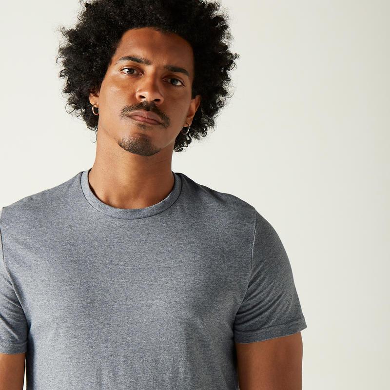 T-shirt Sportee 100% Coton Homme Gris Foncé