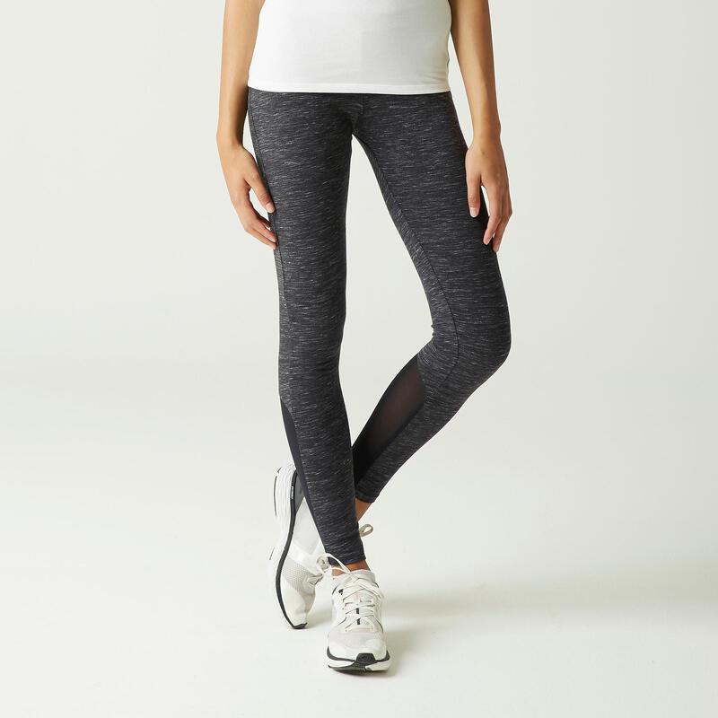 Legging de Sport 520 Femme Gris Chiné