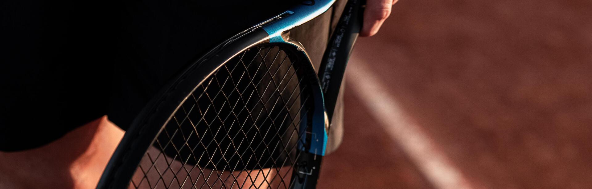 La raquette de tennis