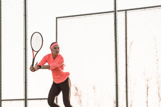 Technnique Tennis : le-coup-droit-long-de-ligne