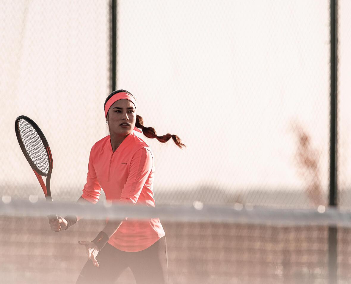 Technique Tennis : le coup droit en contre.