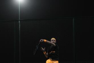 Technique Tennis : le coup droit croisé