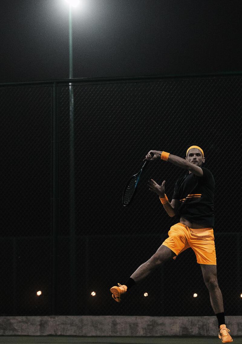 Technique Tennis : le coup droit croisé.
