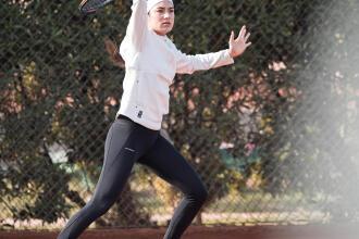 Technique Tennis : le coup droit en contre