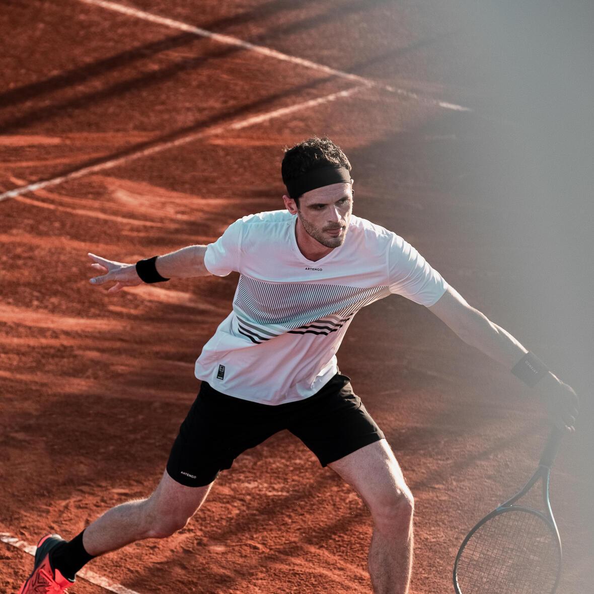 Exercices Tennis : 2 exercices pour bien jouer sur Terre Battue