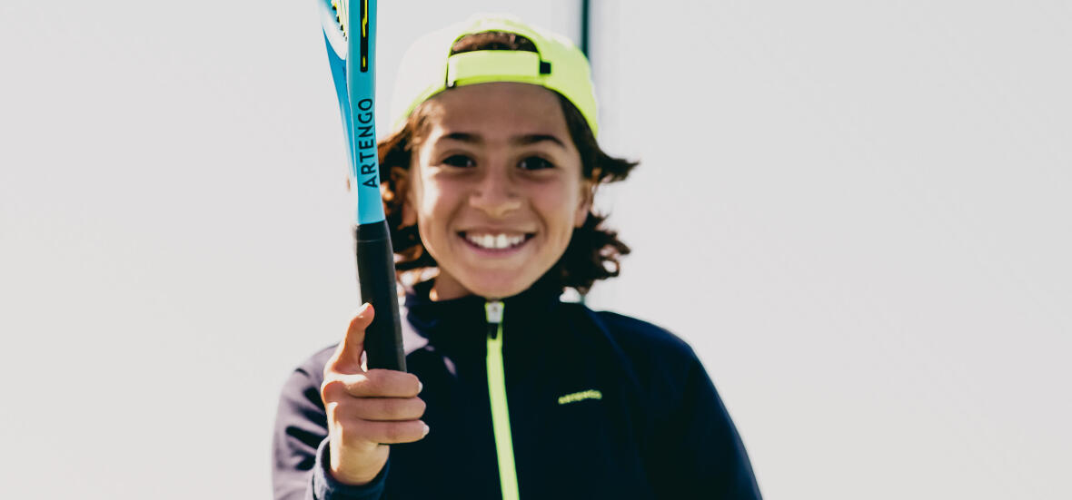 Les différentes prises de raquette de tennis pour les enfants