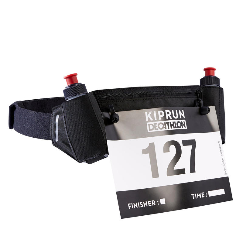 Cinturón Running Portabidones 115ml + Dorsal