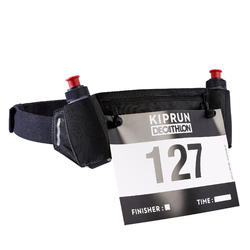 Trinkgürtel Laufsport mit Flaschen 115ml + Startnummernhalter