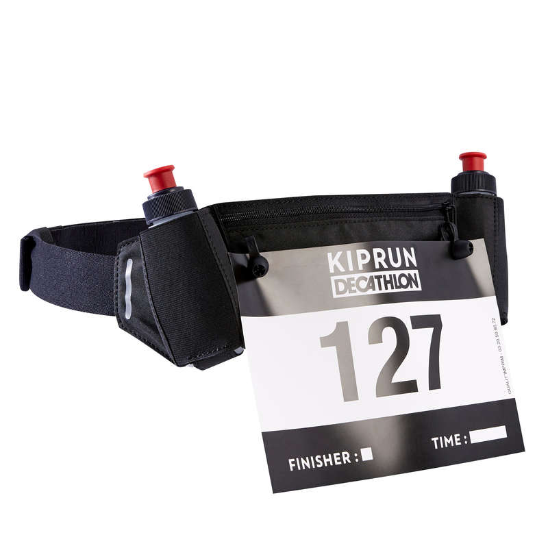 IDRATAZIONE E ACCESSORI TRASPORTO Running, Trail, Atletica - Marsupio 2 borracce 115ml KIPRUN - Running, Trail, Atletica