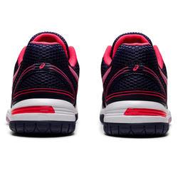 Chaussures de volley-ball Asics femme Gel Spike bleues et roses
