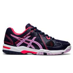 Volleybalschoenen dames Asics Gel Spike blauw en roze