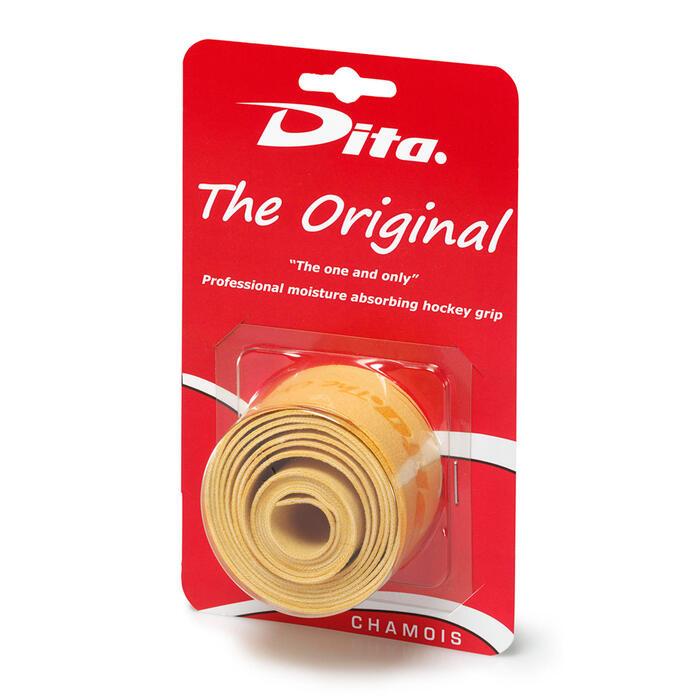 Surgrip de hockey sur gazon Dita Chamois Original naturel