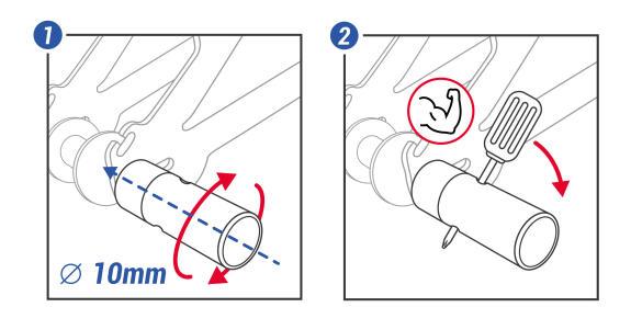comment monter les pegs sur le bmx
