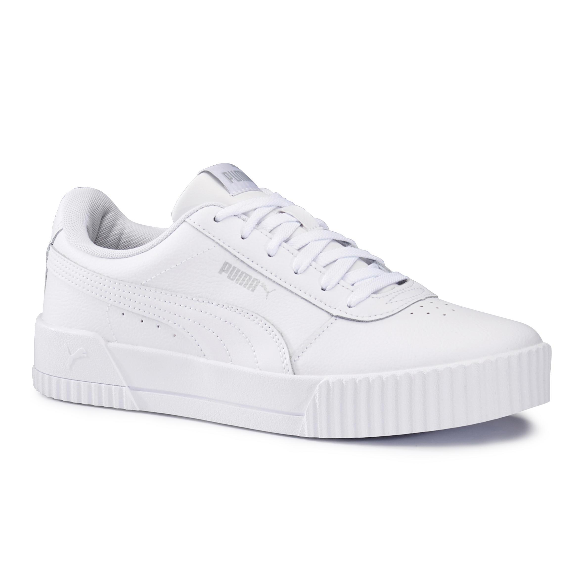 Chaussures de marche active femme Puma Carina blanc