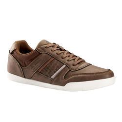 Herensneakers voor sportief wandelen Madol bruin