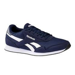 Herensneakers voor sportief wandelen Royal Classic blauw