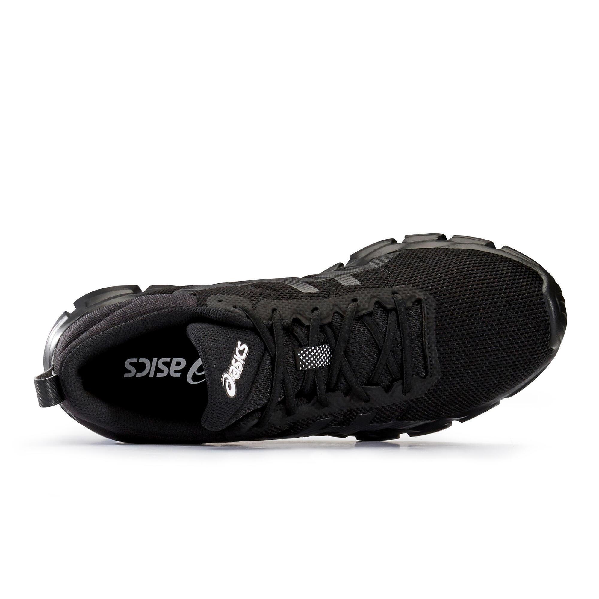 Chaussures marche sportive homme Asics Quantum Lyte noir ASICS ...