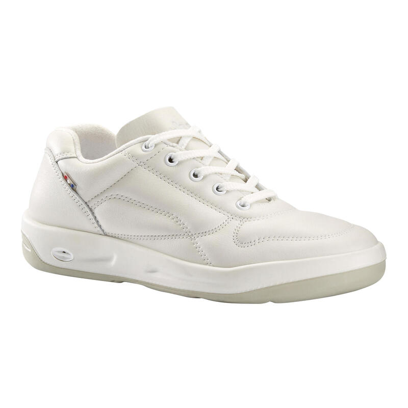 Chaussures cuir marche urbaine homme TBS Albana blanc