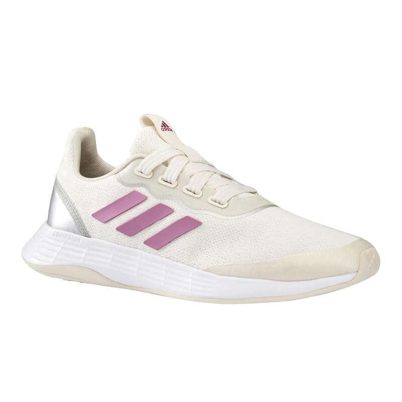 WALKINGSKOR DAM Walking, gång - Adidas Racer Sport vit/rosa ADIDAS - SPORTER