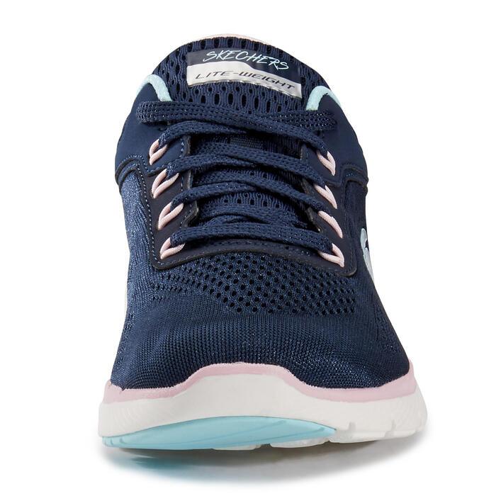 Women's Fitness Walking Shoes Skechers Flex Appeal - blue