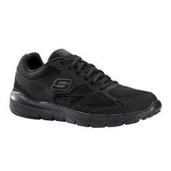 Calçado de Caminhada Desportiva Skechers Flex Advantage Homem Preto