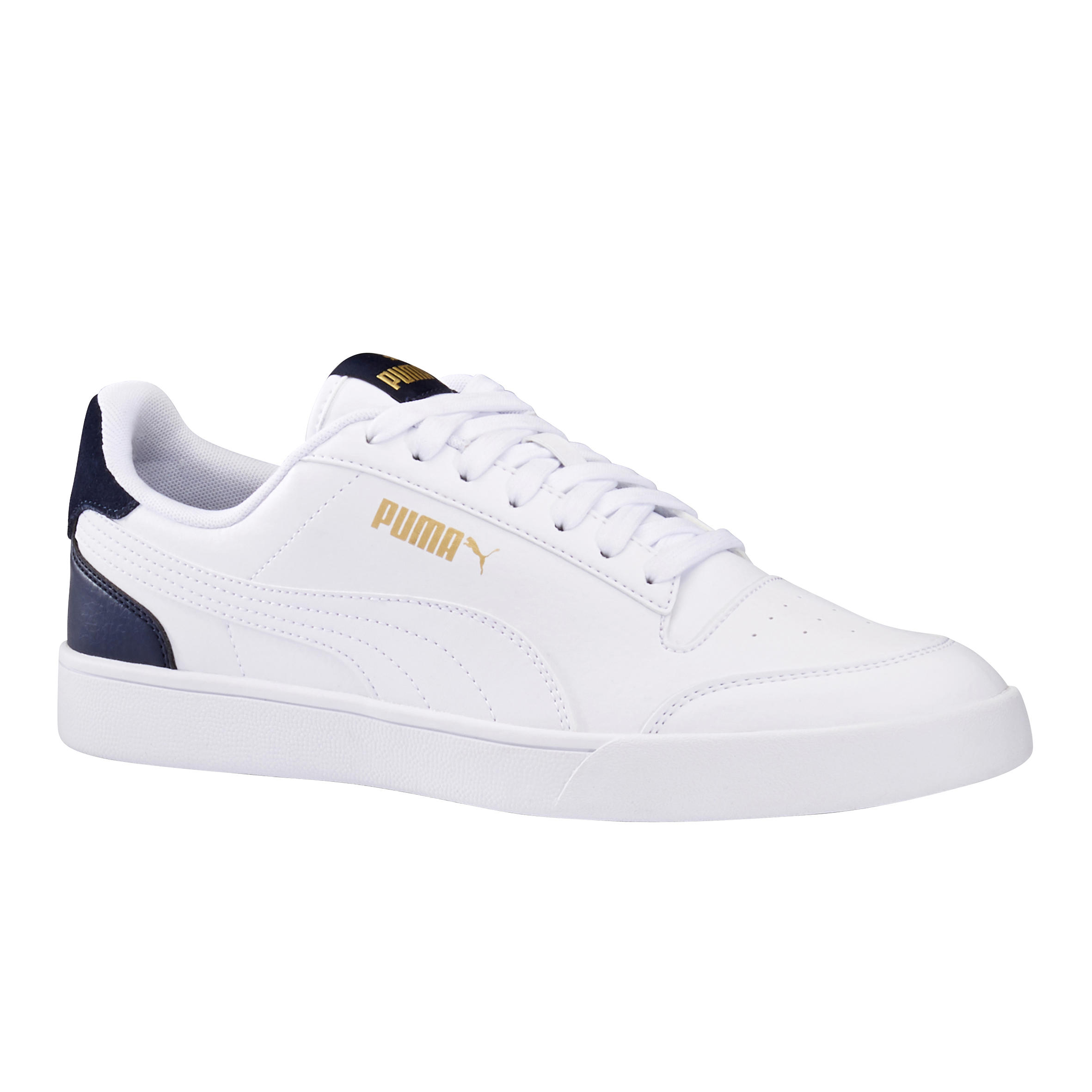 Chaussures marche active homme Puma Shuffle blanc / bleu