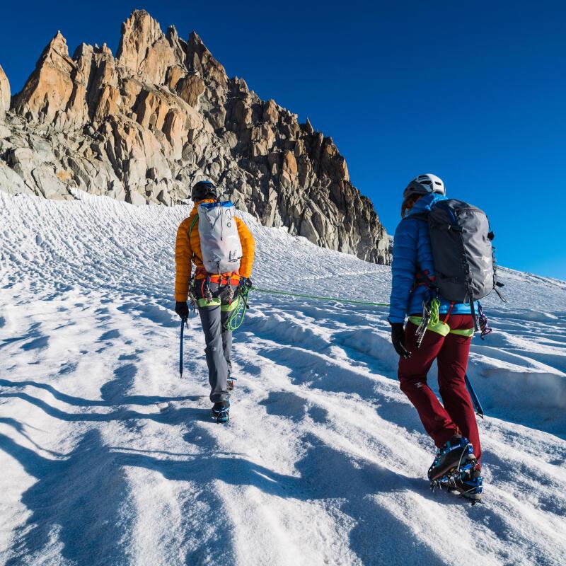 Why climbers use chalk ?