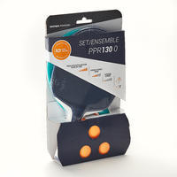 Table Tennis Set PPR 130 with 2 Durable Bats and 3 Balls
