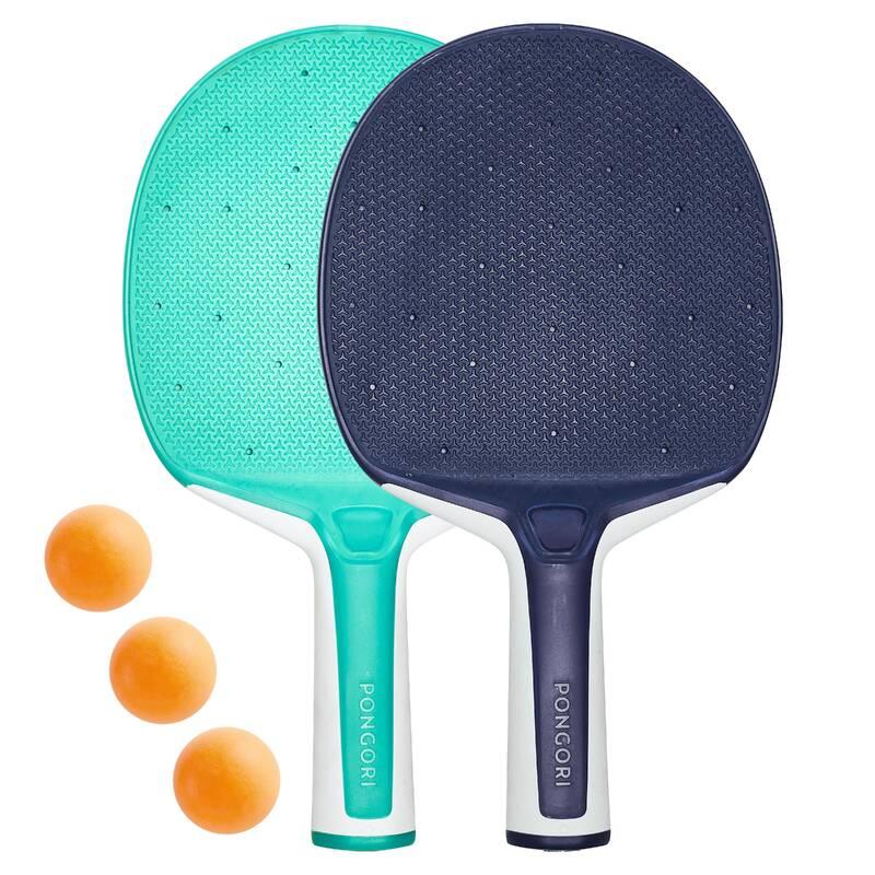 PÁLKY NA NA INDOOR STOLNÍ TENIS RAKETOVÉ SPORTY - SADA NA STOLNÍ TENIS PPR130 PONGORI - Stolní tenis, ping pong