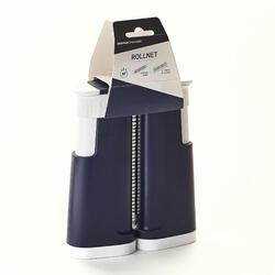 Verstelbare netposten voor tafeltennis Rollnet blauw/wit