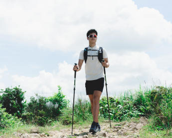 How to choose gears for fast hiking - hiking pole