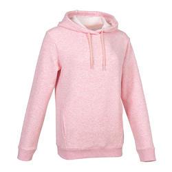 女款連帽衫500 - 粉色
