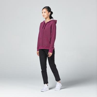 Women's Hoodie 500 - Purple