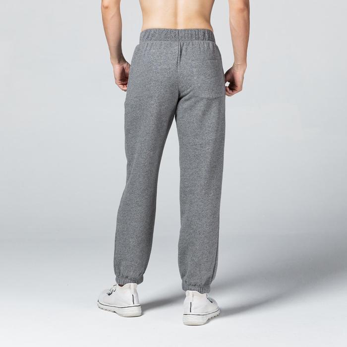 Pantalon Training Homme Regular 500 Gris